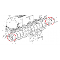 Прокладка двигателя – впускной патрубок ФАВ 3252