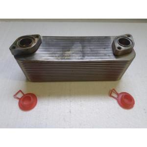 Радиатор - маслоохладитель в сборе FAW EURO 3  (13 пластин)
