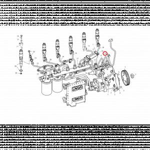 Трубка ТНВД высокого давления ФАВ 3252 CA6DL2-24V