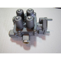 Кран (клапан) тормозной защитный 4-контурный  FAW 3252 (ФАВ 3252)