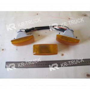 Фонарь-поворотник левый HOWO A7 на крыло (арку)