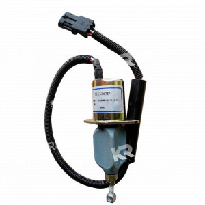 Электроклапан ТНВД глушилка WD615 612600180175 (24V) 3-х контактный